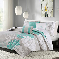 Madison Park Brianna 6-pc. Coverlet Set