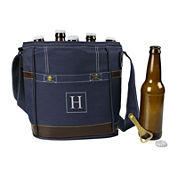 Personalized Craft Beer 6-Pack Bottle Cooler