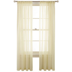 MarthaWindow™ Voile Rod-Pocket Sheer Panel  copy