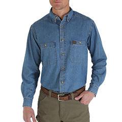 Wrangler® Long-Sleeve Work Shirt