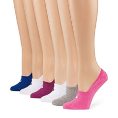 Xersion 6 Pair Liner Socks