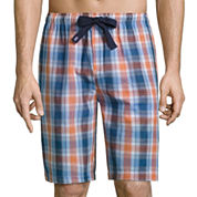 Izod Broadcloth Pajama Shorts