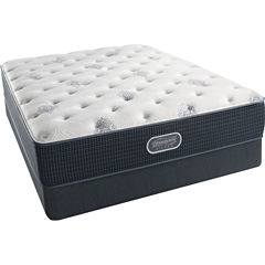 Simmons Beautyrest Silver® Snowhaven Plush - Mattress + Box Springs