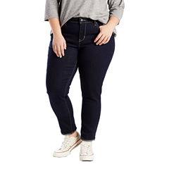Levi's 711 Skinny Ankle Jeans-Plus