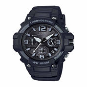 Casio Mens Black Strap Watch-Mcw100h-1a3v
