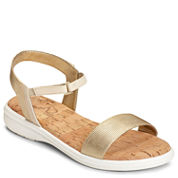 A2 by Aerosoles Great Night Womens Flat Sandals