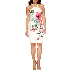 Bisou Bisou Sleeveless Sheath Dress