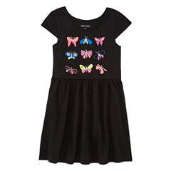 Okie Dokie Sleeveless Sundress - Toddler Girls