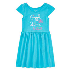 Okie Dokie Sleeveless Sundress - Toddler Girls
