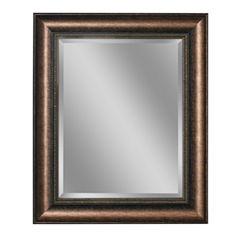 Distressed Embossed Wall Mirror