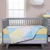 Trend Lab® Triangles 3-pc. Crib Bedding Set