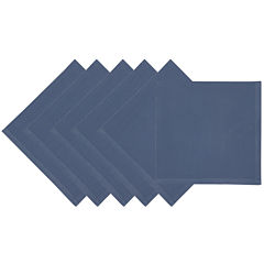 Design Imports Stonewash Set of 6 Napkins