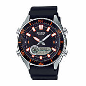 Casio Mens Black Strap Watch-Amw-720-1av