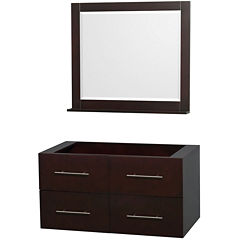 Wyndham Collection Centra 42 inch Single BathroomVanity