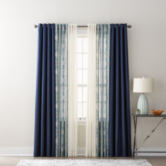 blackout curtains, energy efficient & insulated curtains - jcpenney
