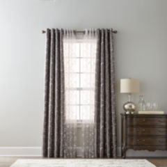 valances sheer curtains for window - jcpenney
