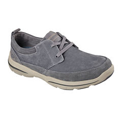 Skechers® Harper Mens Canvas Lace-Up Shoes