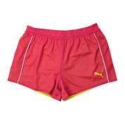 Puma® Double Mesh Shorts - Girls 7-16