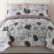 Home Expressions™ Elissa Floral Complete Bedding Set with Sheets & Accessories