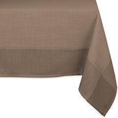 Design Imports Border Tablecloth