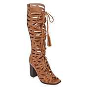 2 Lips Too Robby Womens Heeled Sandals