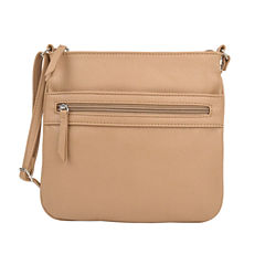 City Streets Front Zip Pocket Crossbody Bag