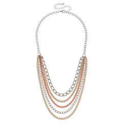 Bold Elements Womens Strand Necklace