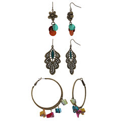 Mixit 3-pc. Earring Sets