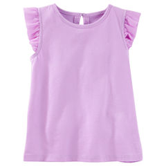 Oshkosh Cap Sleeve T-Shirt-Toddler Girls