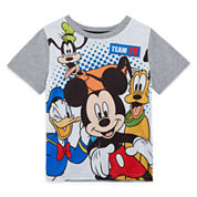 Disney By Okie Dokie Mickey and Friendes Graphic T-Shirt-Toddler Boys