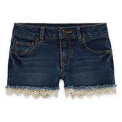 Arizona Denim Shortie Shorts - Preschool Girls