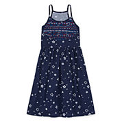 City Streets Sleeveless A-Line Dress - Girl's 4-16