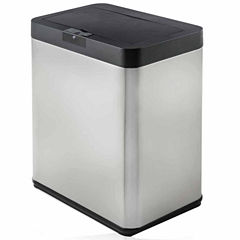 Premium Motion Activated Swiveling Adaptive Sensor Trash Can with Wall Adapter, 11 Gal