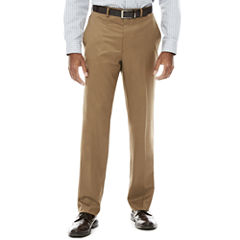Collection by Michael Strhan Textured Twill Flat-Front Pants - Classic