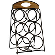 Gourmet Basics by Mikasa® 6-Bottle Foldable Wine Rack