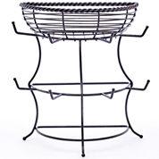 Gourmet Basics by Mikasa® Rope Flatback Mug Tree with Basket