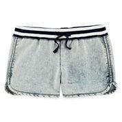 Vigoss® Acid Wash Denim Shorts - Girls 7-14