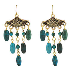 Art Smith by BARSE Turquoise Droplet Earrings