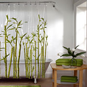 Maytex Bamboo PEVA Shower Curtain