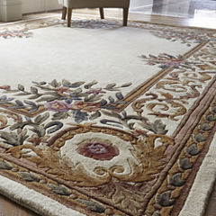 Momeni® Open Field Hand-Carved Wool Rug Collection