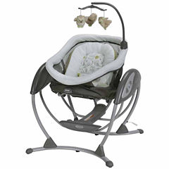 Graco DreamGlider Gliding Swing and Sleeper - Percy
