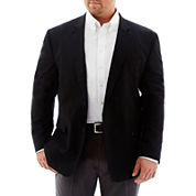 Stafford® Linen-Cotton Sport Coat - Portly