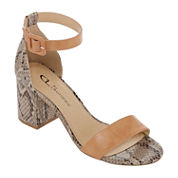 CL by Laundry Jump Womens Heeled Sandals