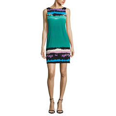 Nicole By Nicole Miller Sleeveless Shift Dress