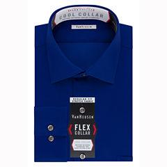 Van Heusen Van Heusen Flex Collar Cool Collar Long Sleeve Dress Shirt