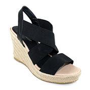Olivia Miller Espadrille Wedge Sandals