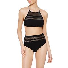Xersion High Neck w/Mesh or High Waist Swimsuit Bottom