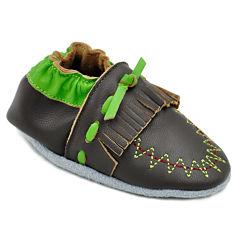 Momo Baby Fringe Moccasin Crib Shoes