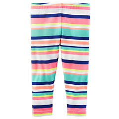 Carter's Stripe Knit Leggings - Toddler Girls