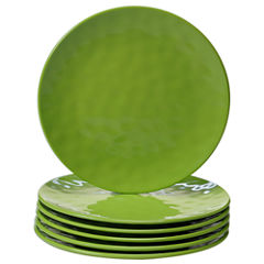 Certified International Green 6-pc. Salad Plate